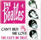Beatles Can't Buy Me Love (sq.) fridge magnet